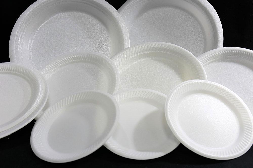 Foam Oval Plate