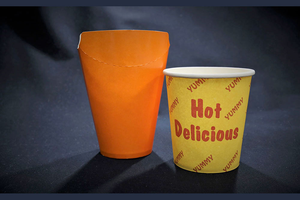 Paper Chip Cup