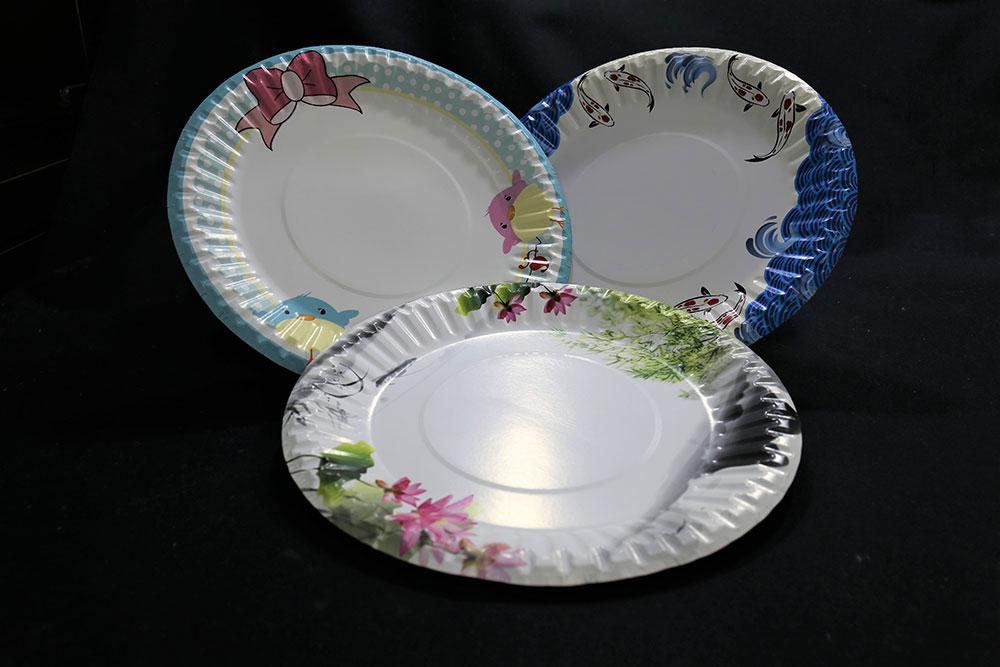 Paper Round Plate